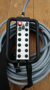 Een kabelbediening naar wens van de klant op basis van de GF-T20